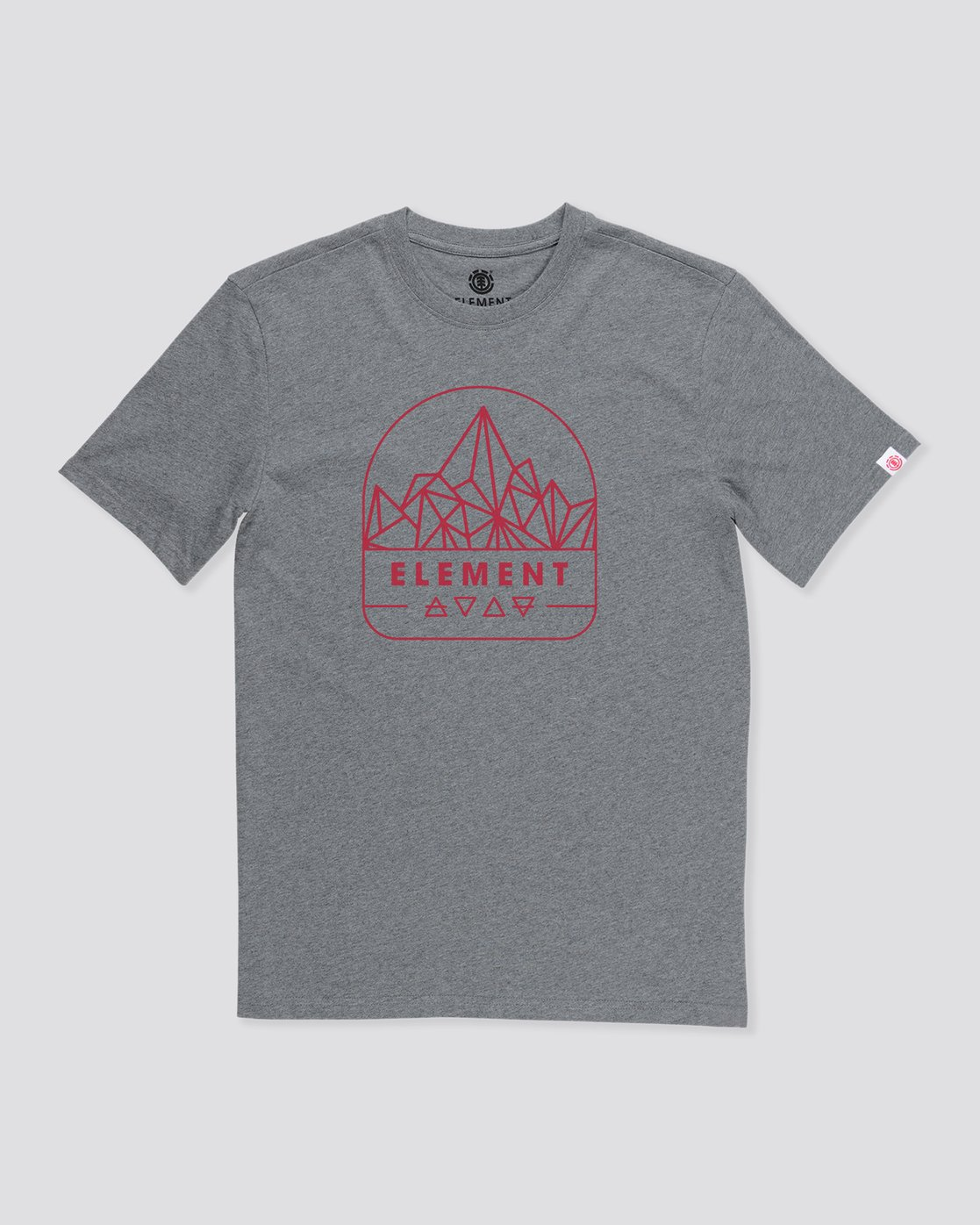 0 Summit Point T-Shirt Grey M4012ESU Element