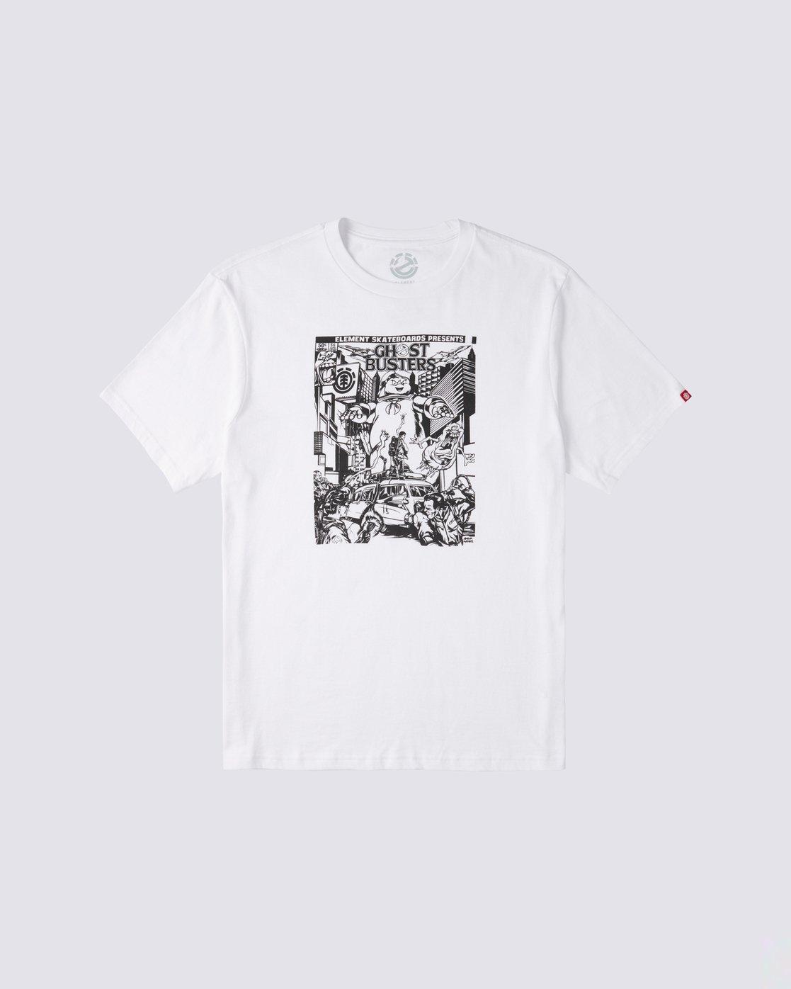 0 Carnage T-Shirt White M4013ECA Element