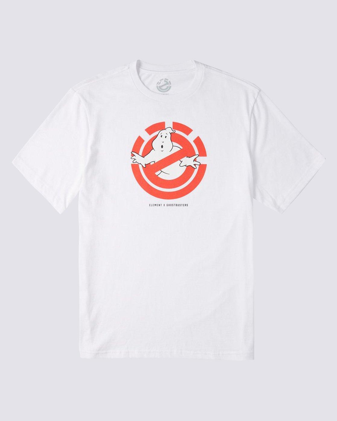0 Ghostly T-Shirt White M4013EGH Element