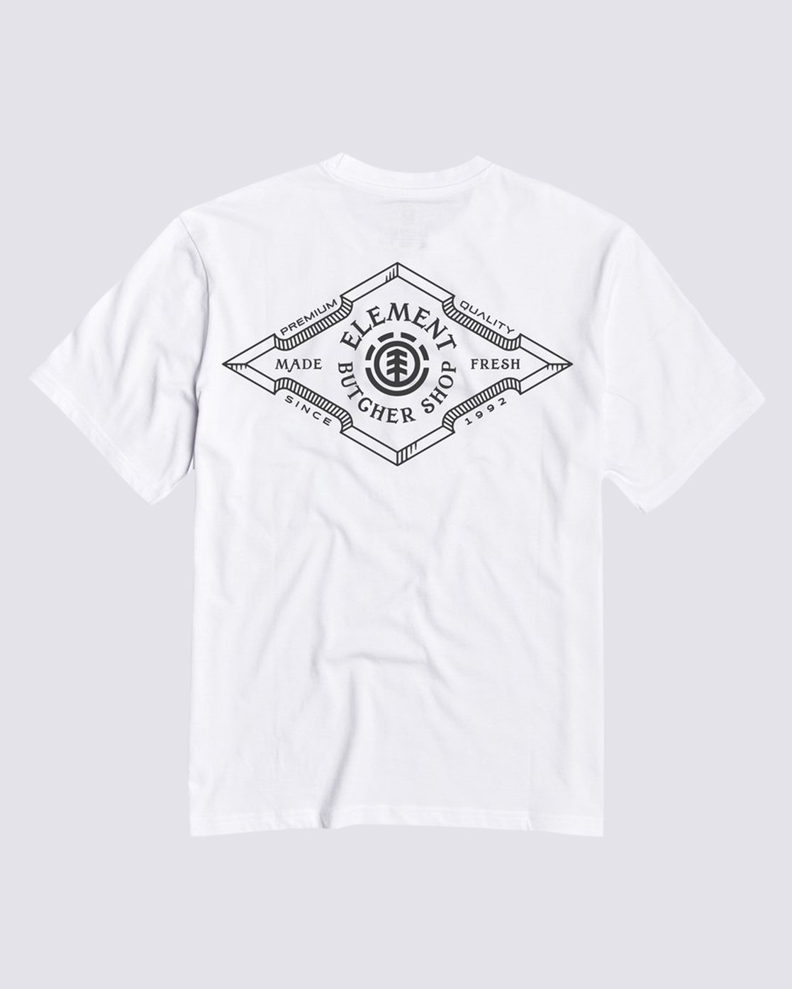 0 Loxley T-Shirt White M4013ELO Element