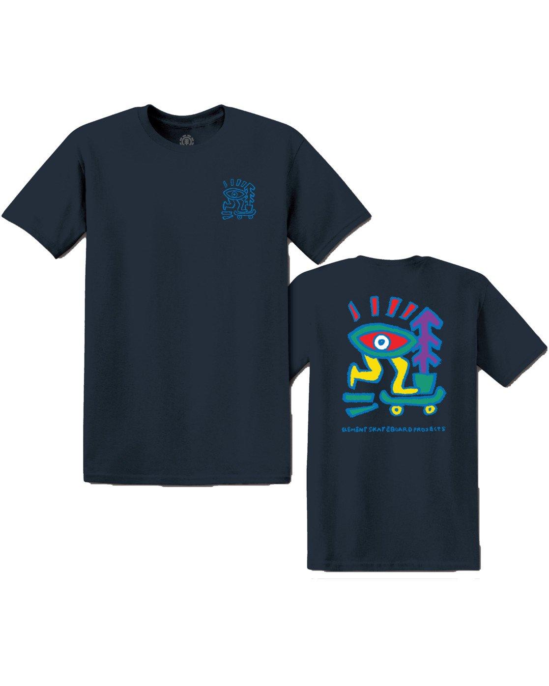 2 Larimer T-Shirt Blue M4013ELR Element