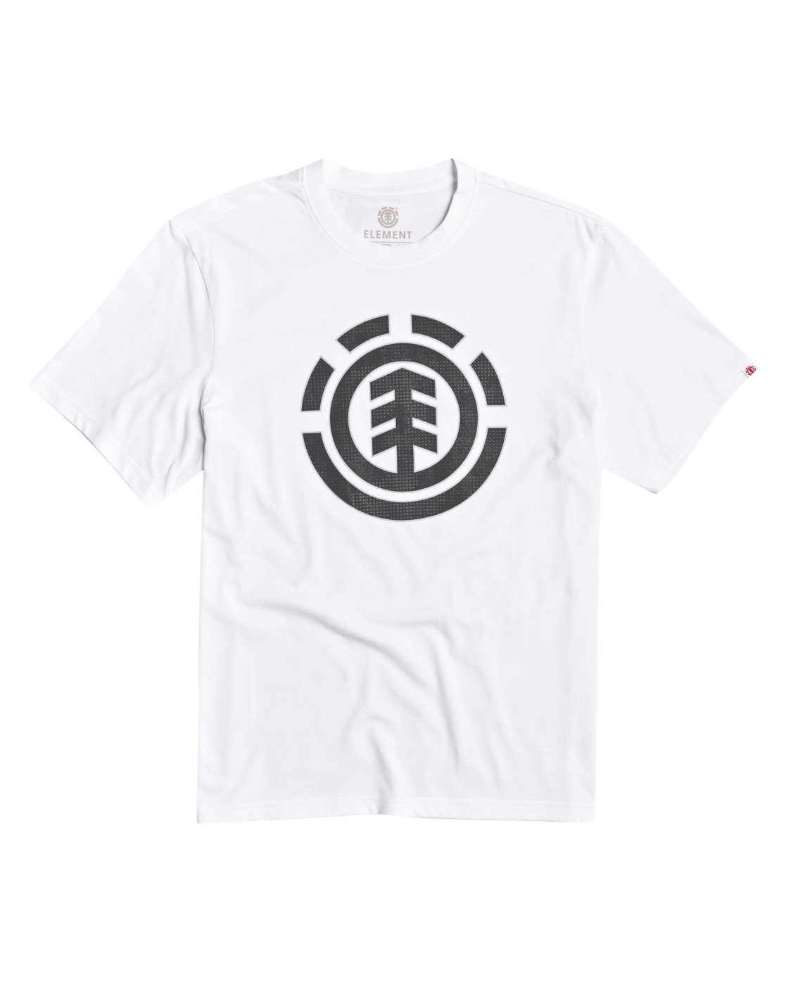 1 Resist Icon Fill T-Shirt White M4013ERS Element