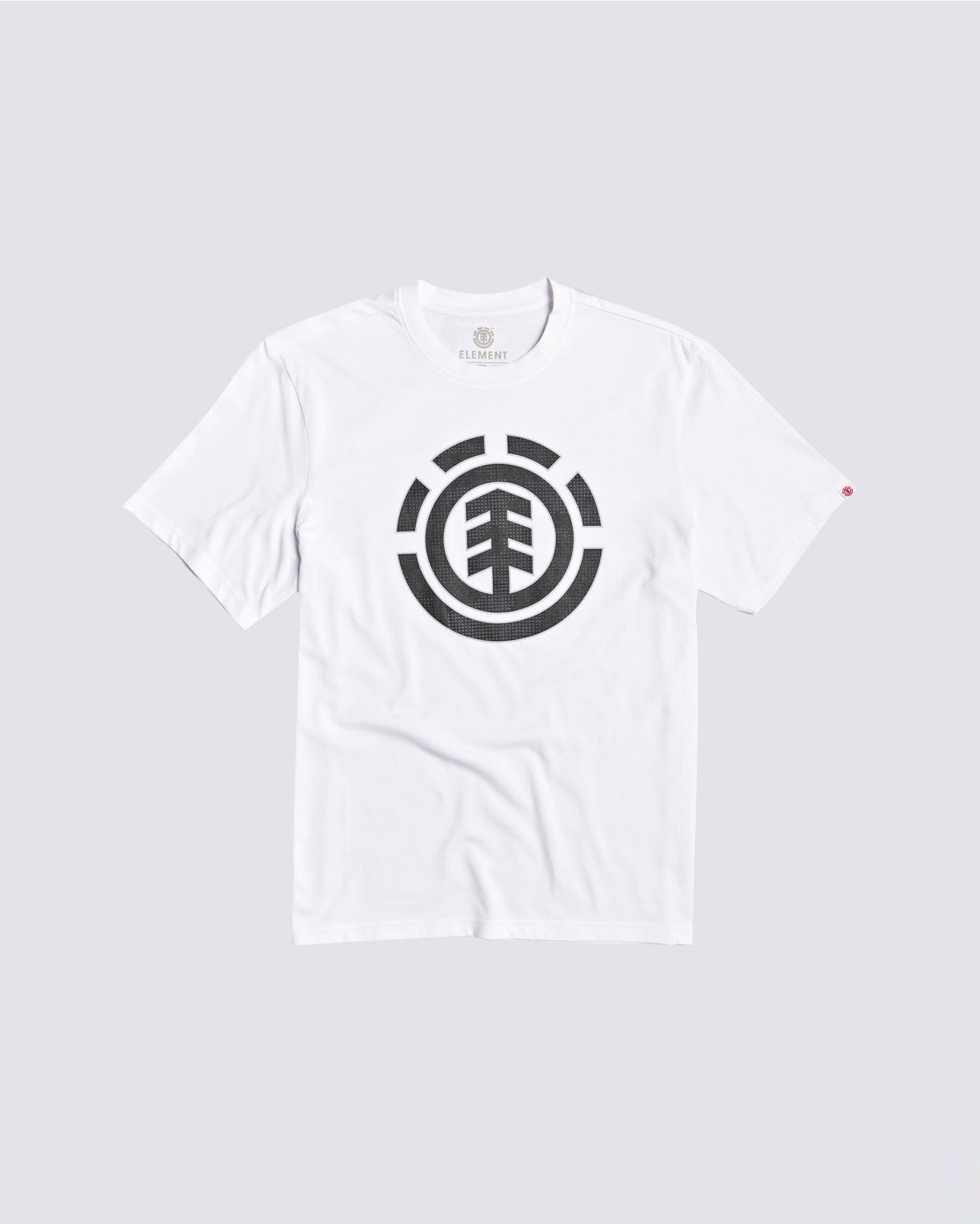 0 Resist Icon Fill T-Shirt White M4013ERS Element
