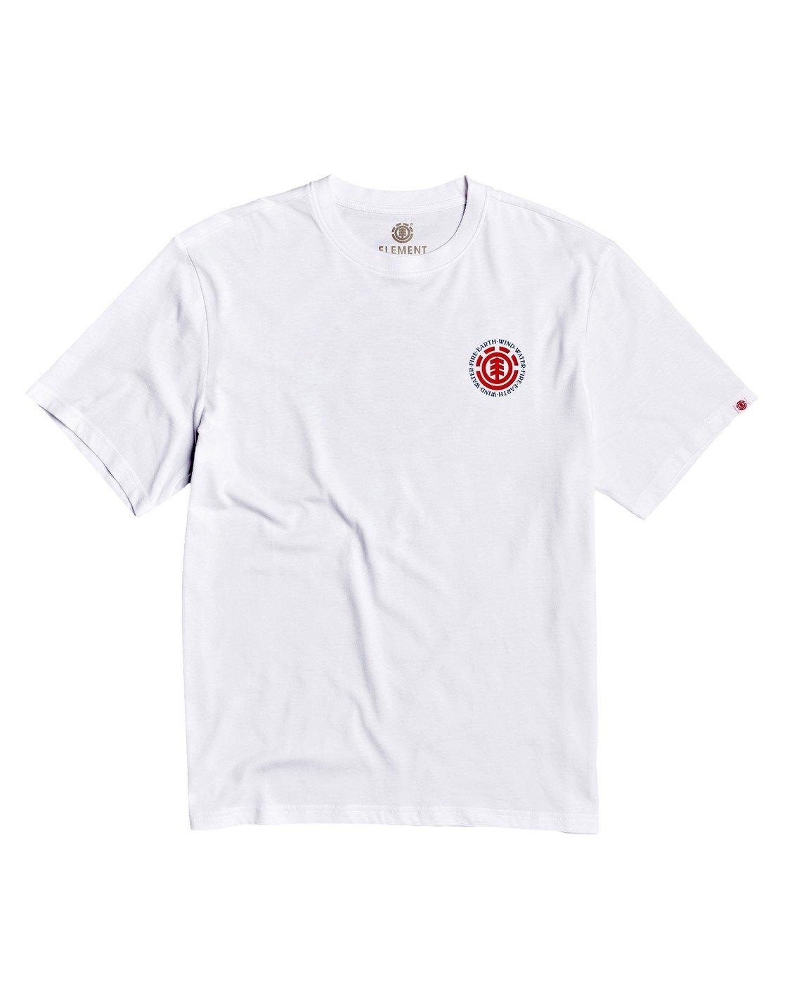 3 Seal BP T-Shirt White M4013ESB Element