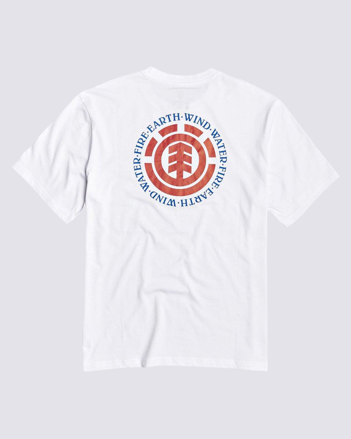1 Seal BP T-Shirt White M4013ESB Element