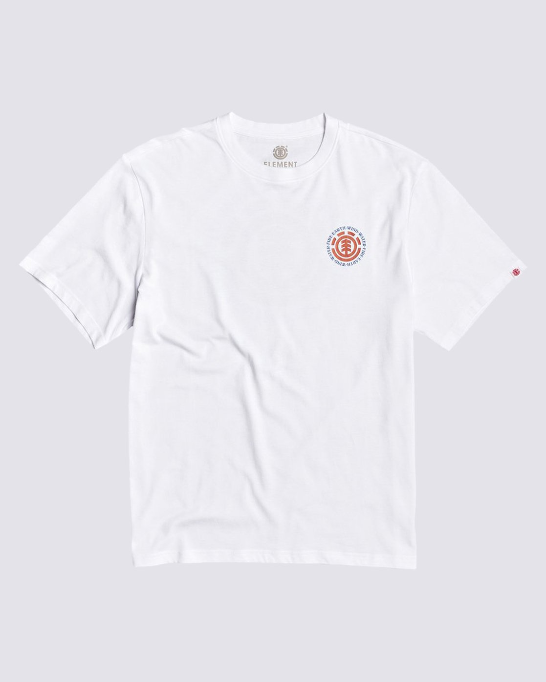 0 Seal BP T-Shirt White M4013ESB Element