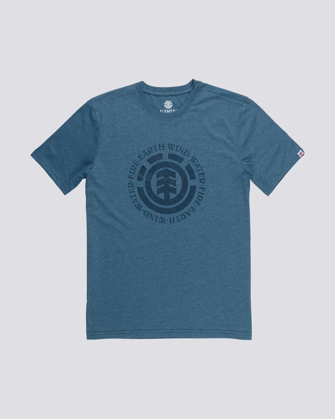 0 Seal T-Shirt Grey M401QESE Element