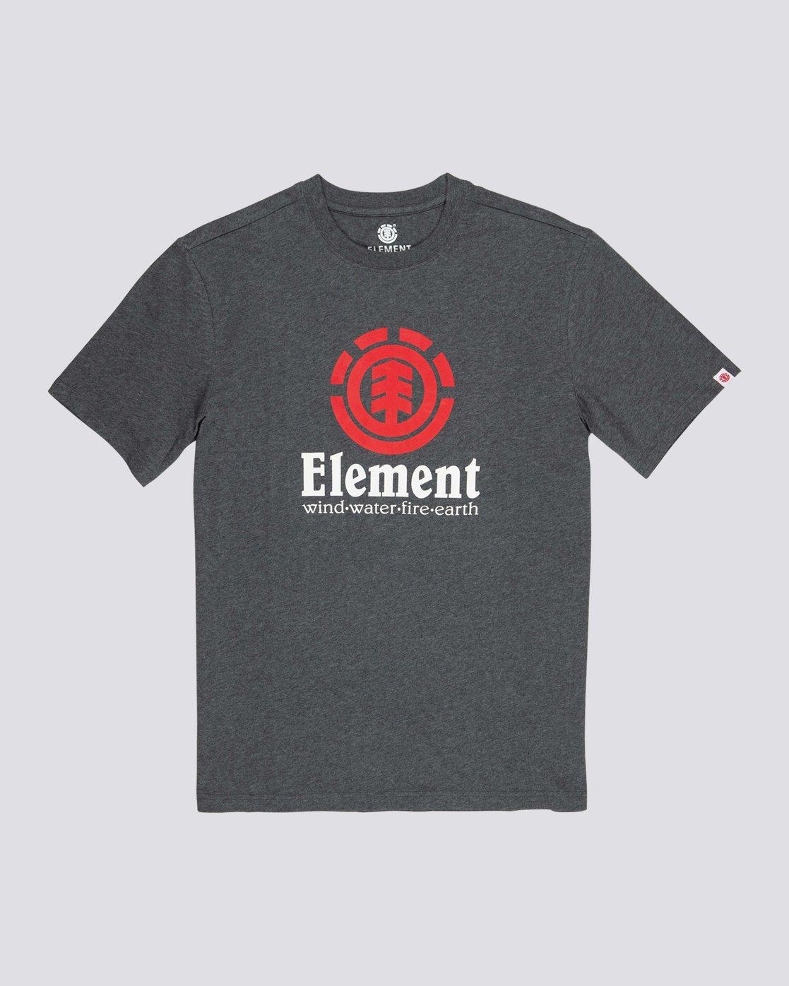 0 Vertical T-Shirt Grey M401QEVE Element