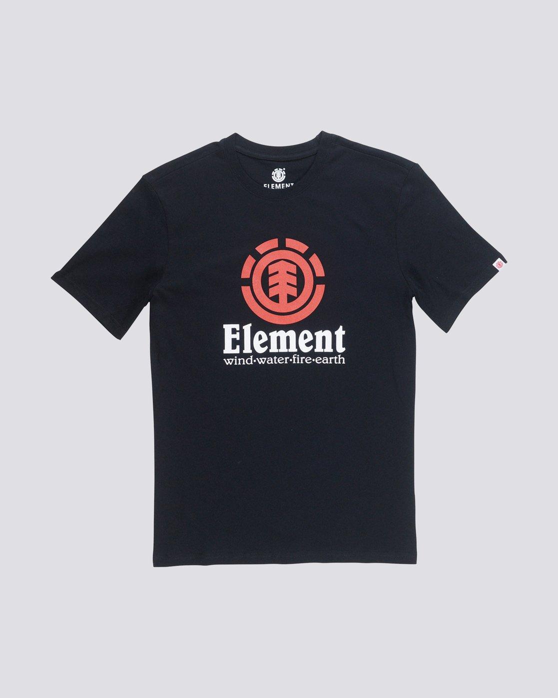 0 Vertical T-Shirt Blue M401QEVE Element