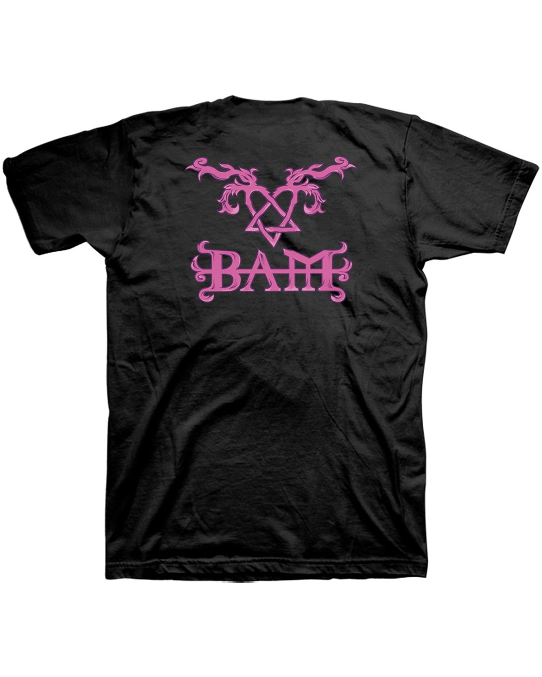 3 Bam Heartagram Short Sleeve Tee  M401SEBN Element