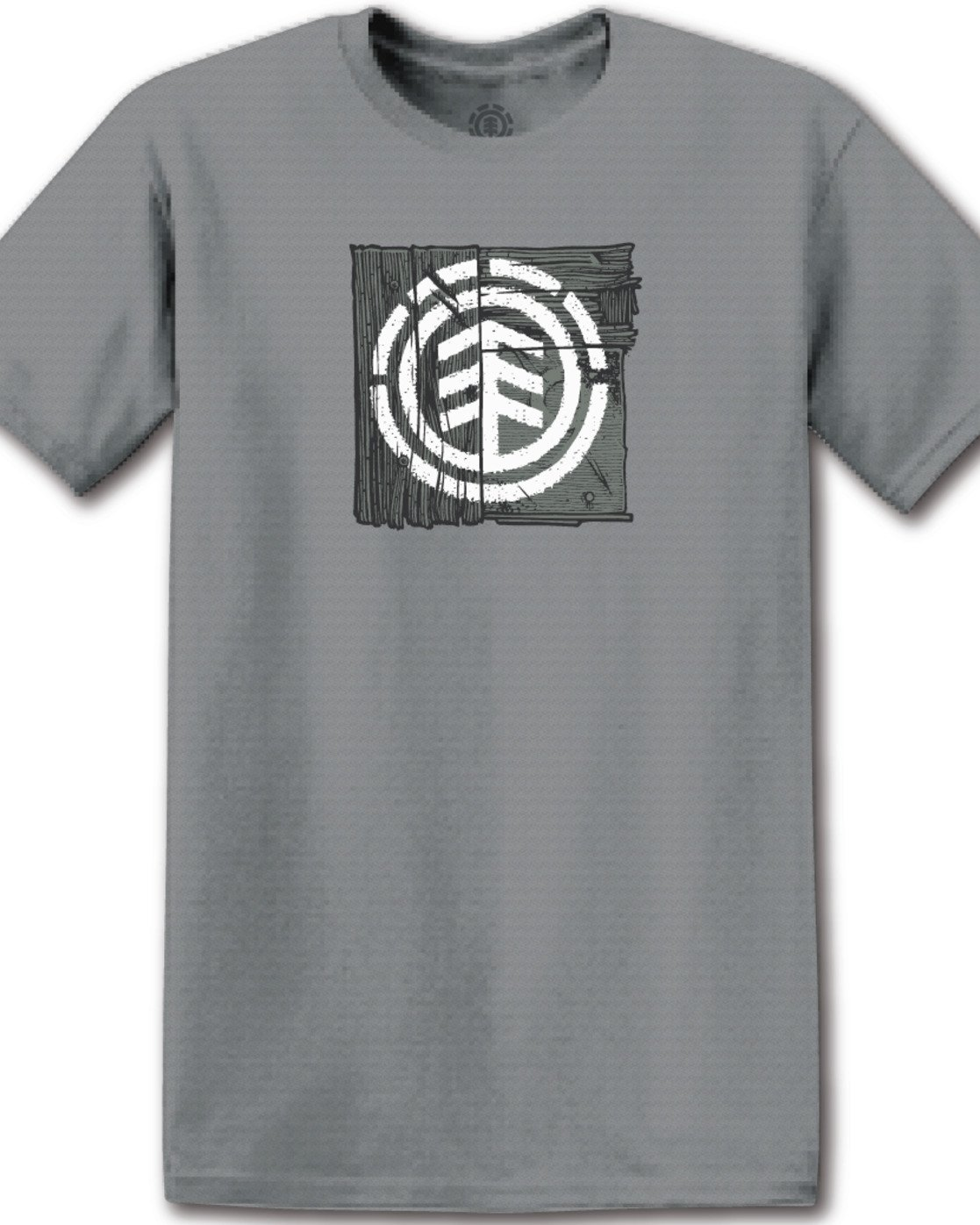 1 Driftwood T-Shirt Grey M401TEDR Element