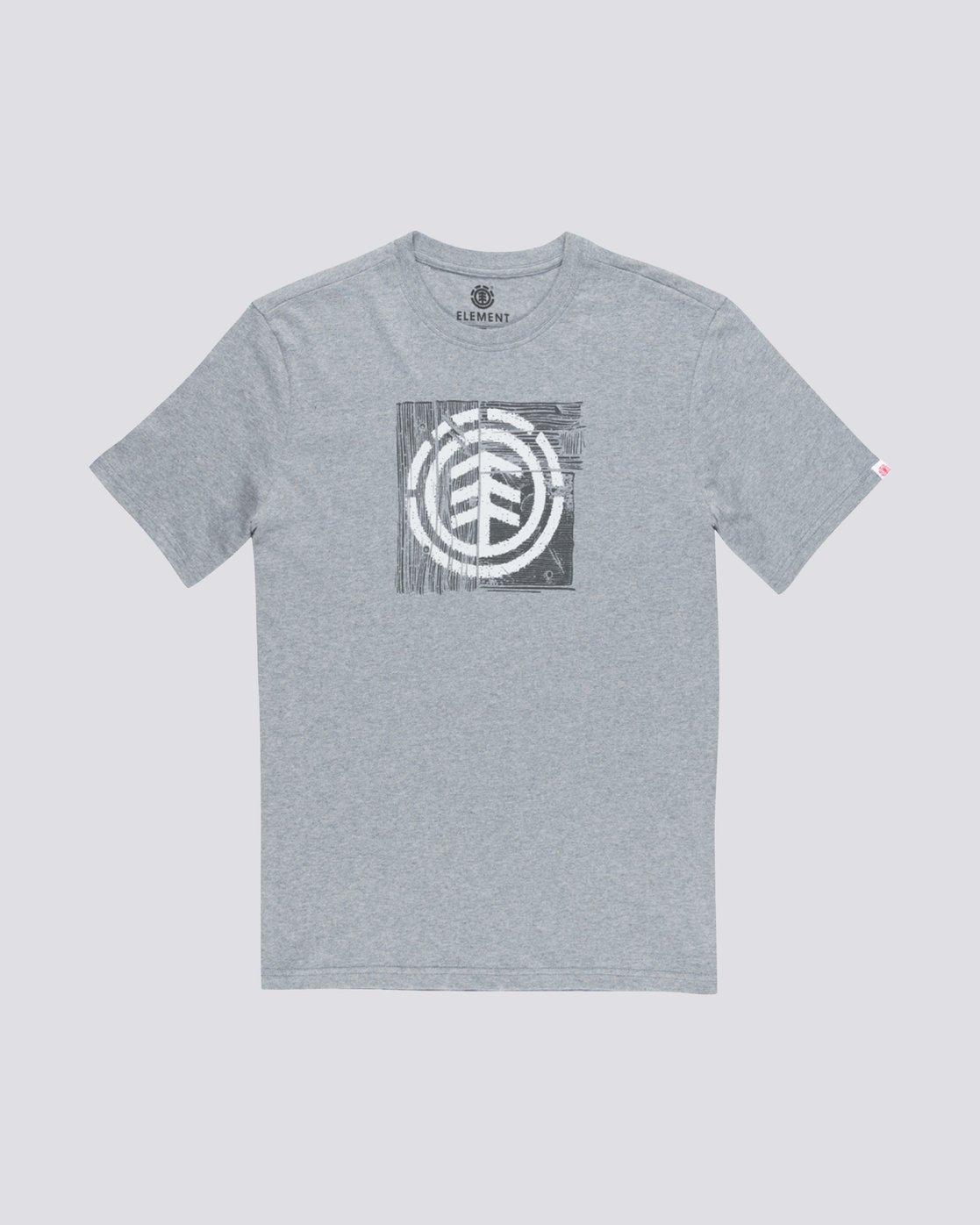 0 Driftwood T-Shirt Grey M401TEDR Element