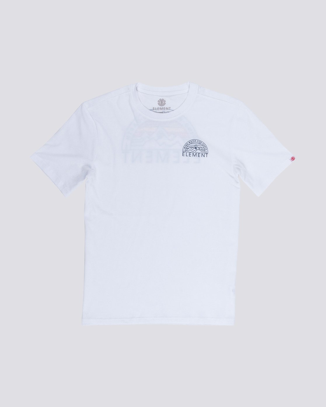 0 Wedge T-Shirt White M401VEOD Element