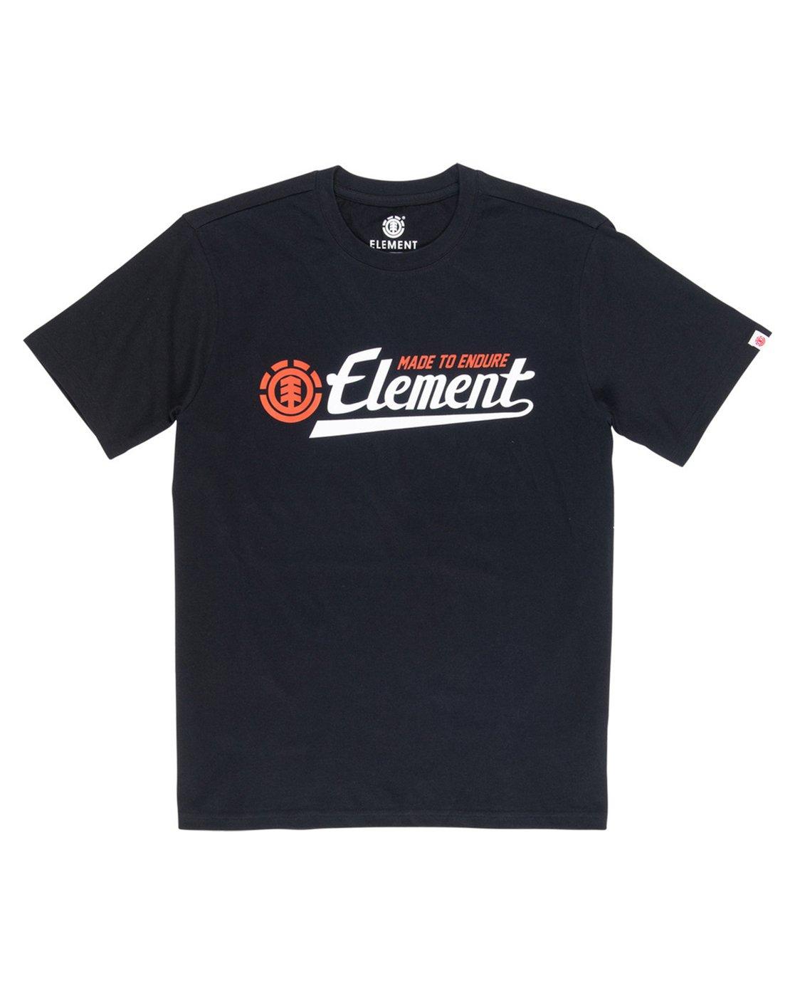 1 Signature T-Shirt Blue M401VESI Element