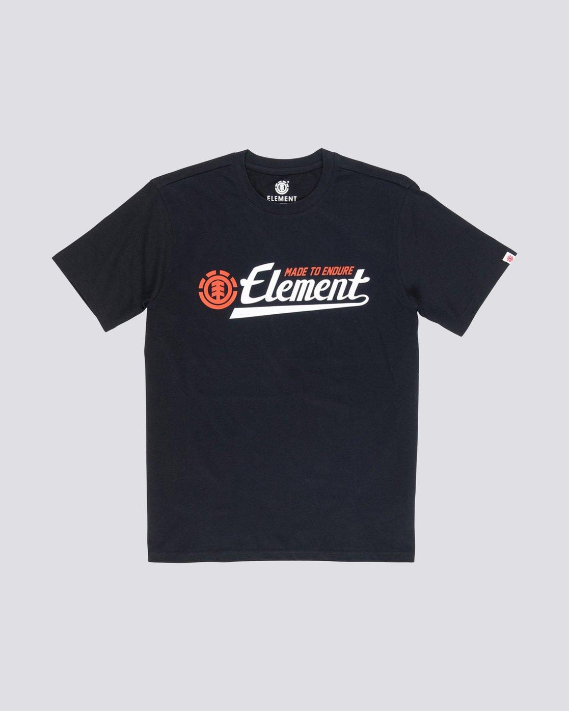 0 Signature T-Shirt Blue M401VESI Element