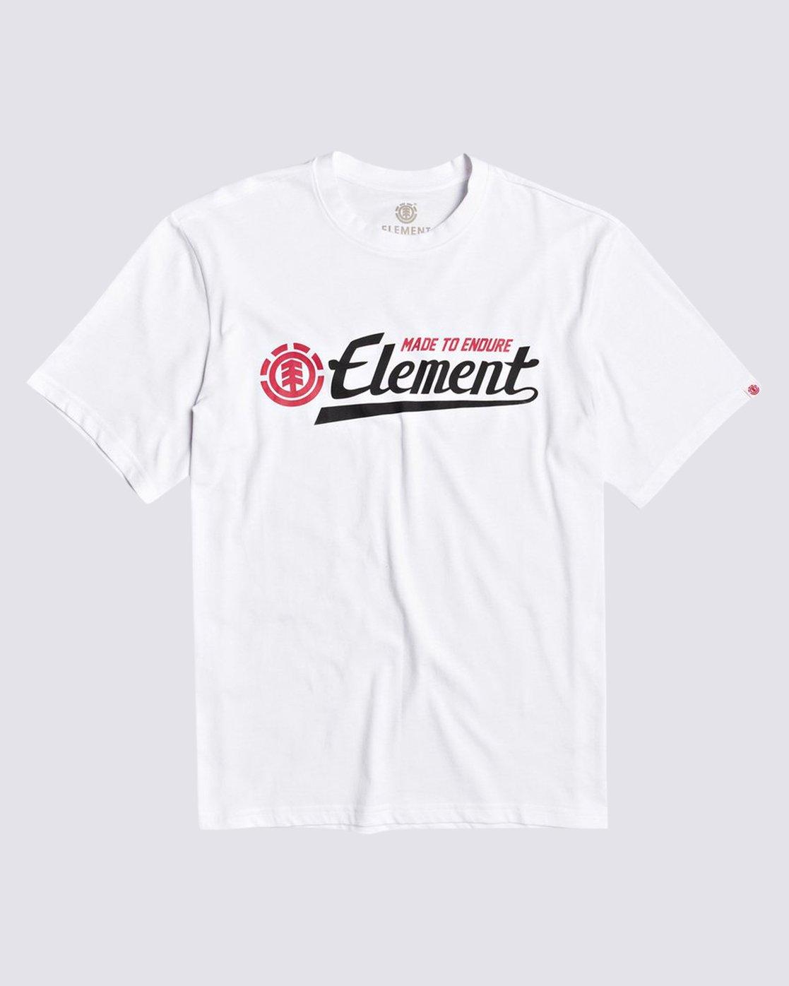 0 Signature Tee White M401VESI Element