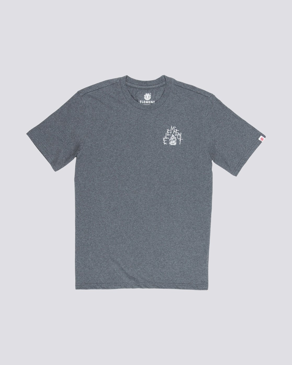 0 Woodland Tee Grey M401VEWO Element