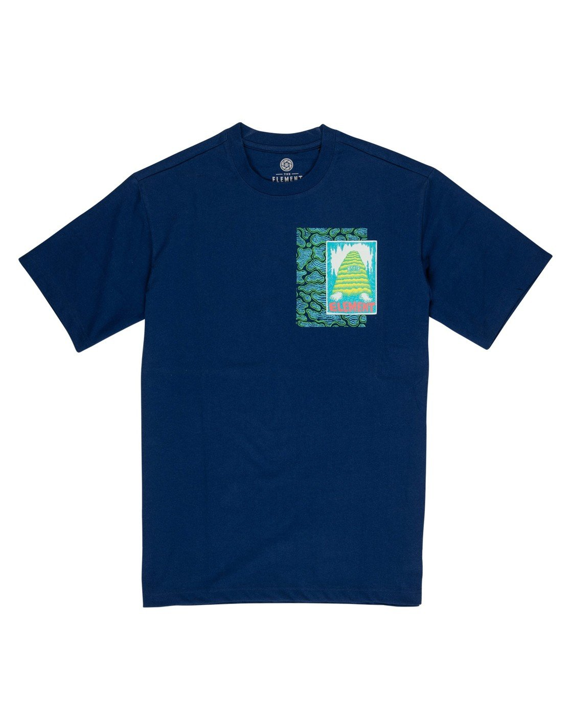 1 Pyramid Man T-Shirt Black M4032EPY Element