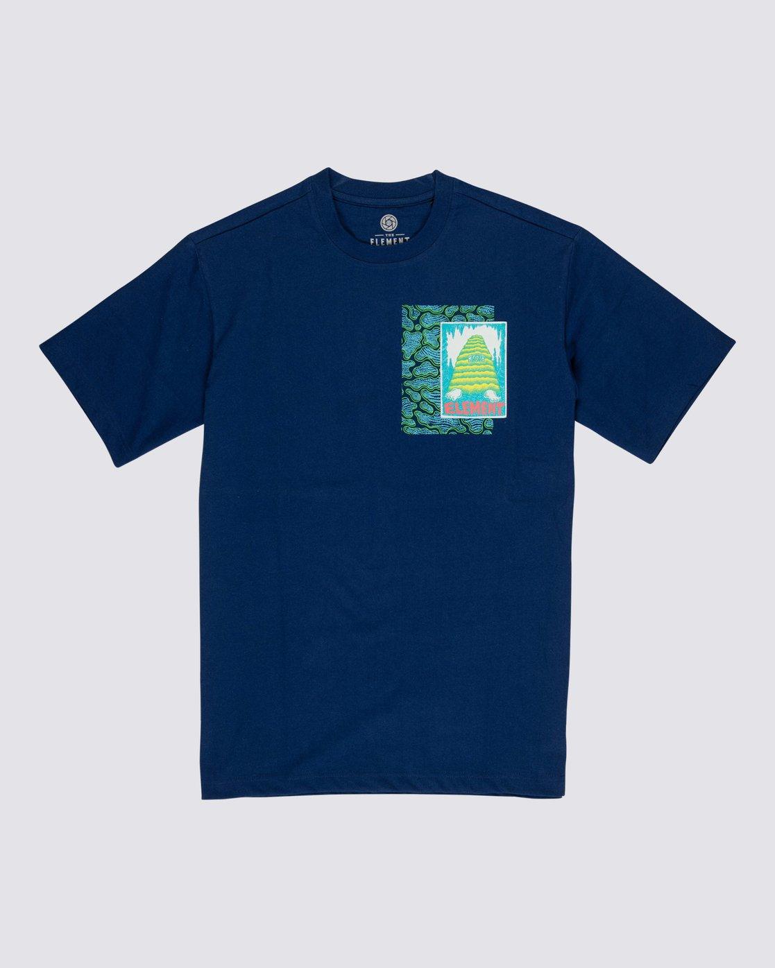 0 Pyramid Man T-Shirt Black M4032EPY Element