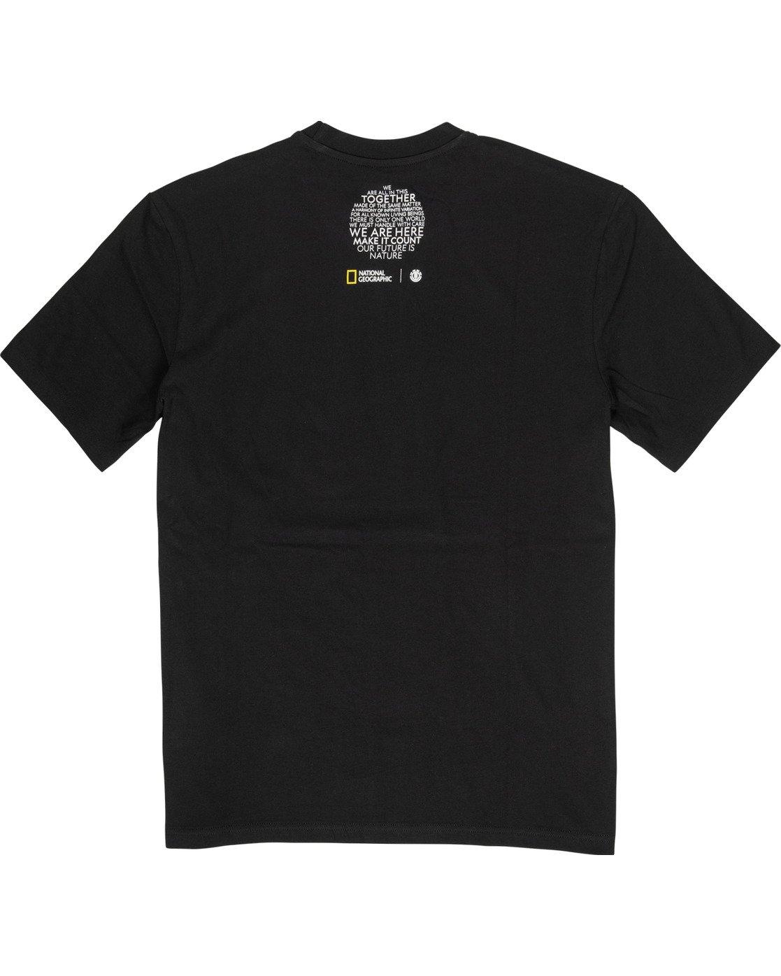 3 Nat Geo Earth T-Shirt Blue M4061EEA Element