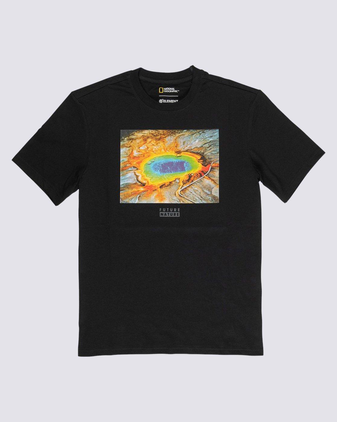 0 Nat Geo Geyser T-Shirt Blue M4061EEE Element