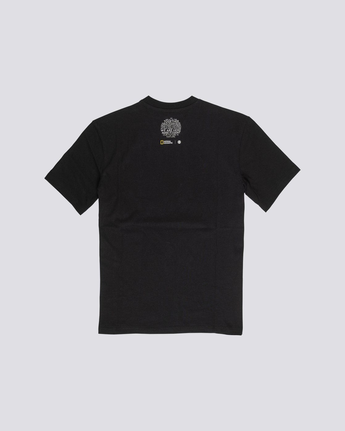 1 Nat Geo Optical T-Shirt Blue M4061EOP Element