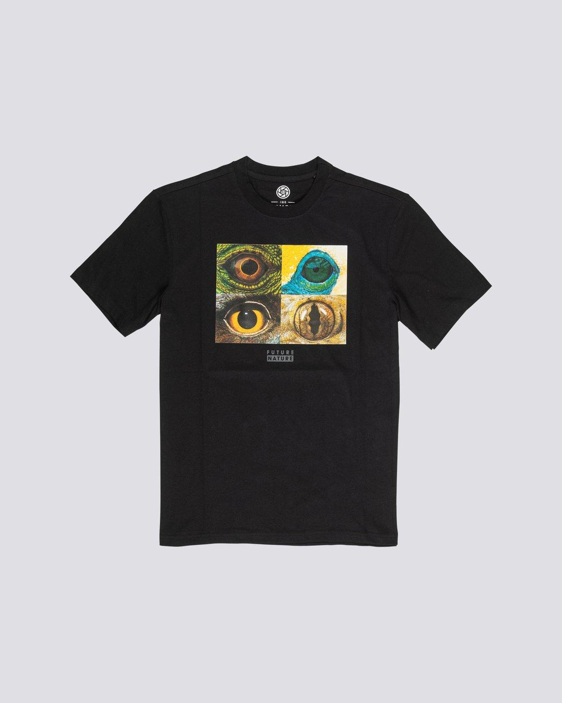 0 Nat Geo Optical T-Shirt Blue M4061EOP Element