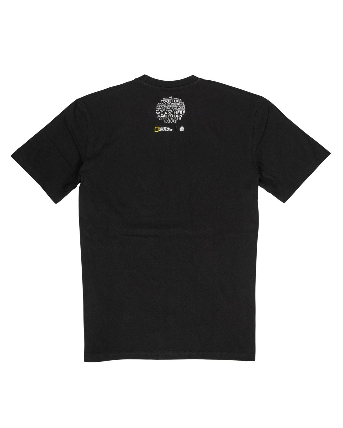 3 Nat Geo Spiral T-Shirt Blue M4061ESP Element