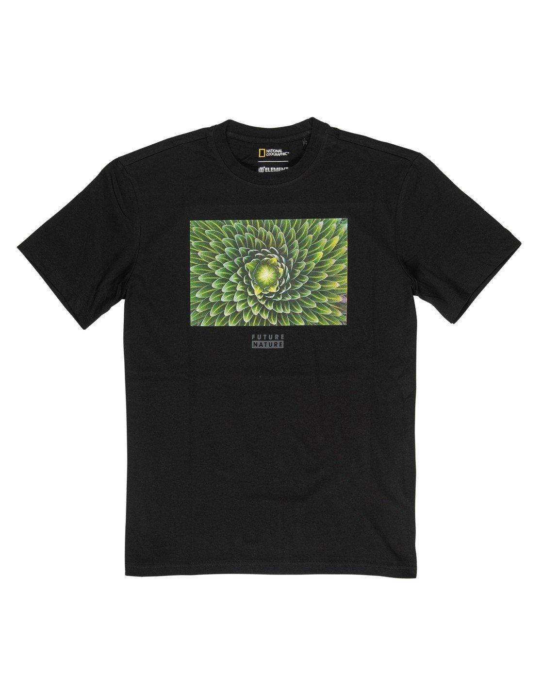 2 Nat Geo Spiral T-Shirt Blue M4061ESP Element