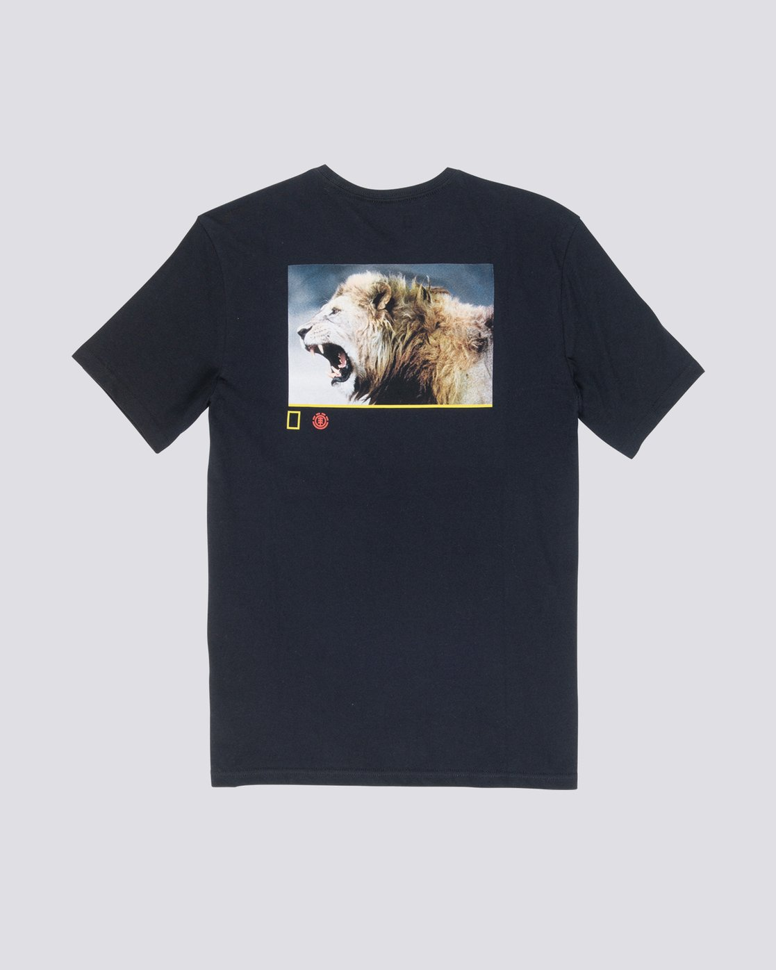 1 Nat Geo Snarl Tee Blue M406VESN Element