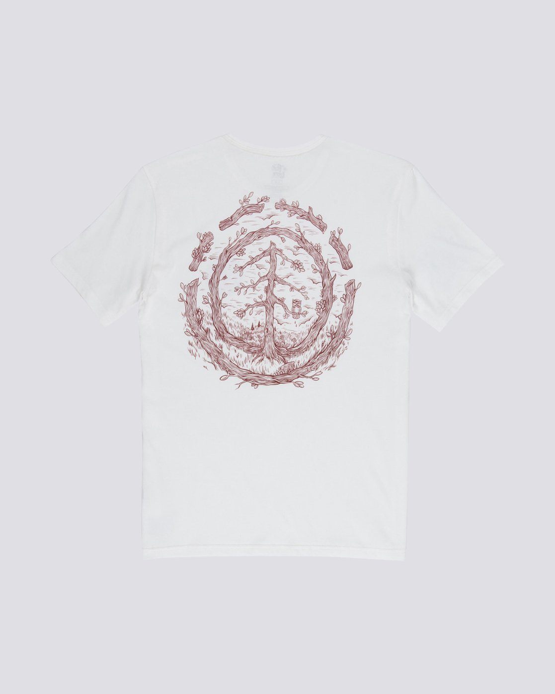 1 Too Late Logo Tee White M406VETO Element