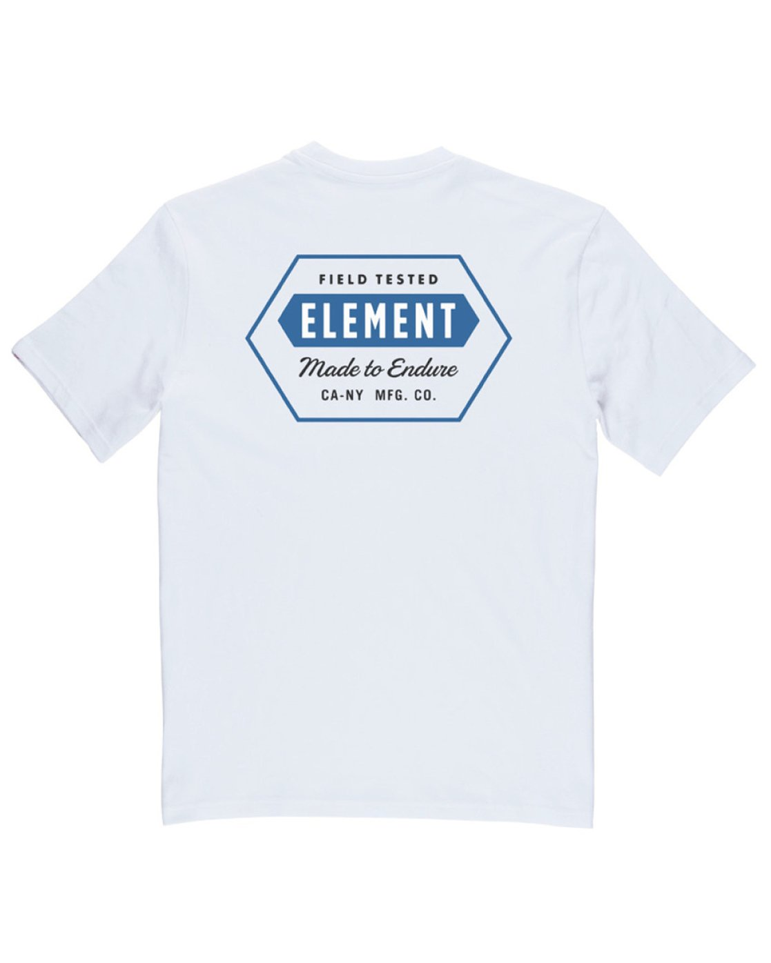 3 Forge Pocket Tee White M413TEFR Element