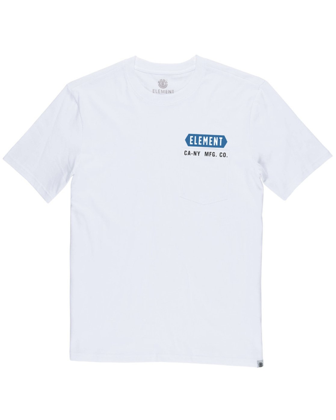 2 Forge Pocket Tee White M413TEFR Element