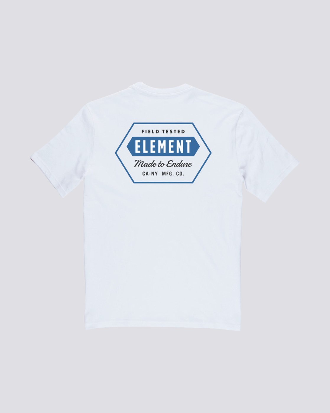 1 Forge Pocket Tee White M413TEFR Element