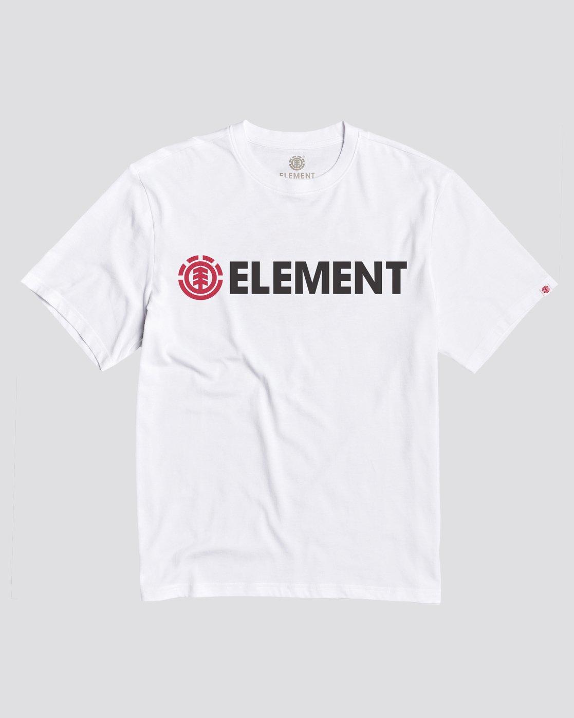 0 Blazin T-Shirt White M4501EBL Element