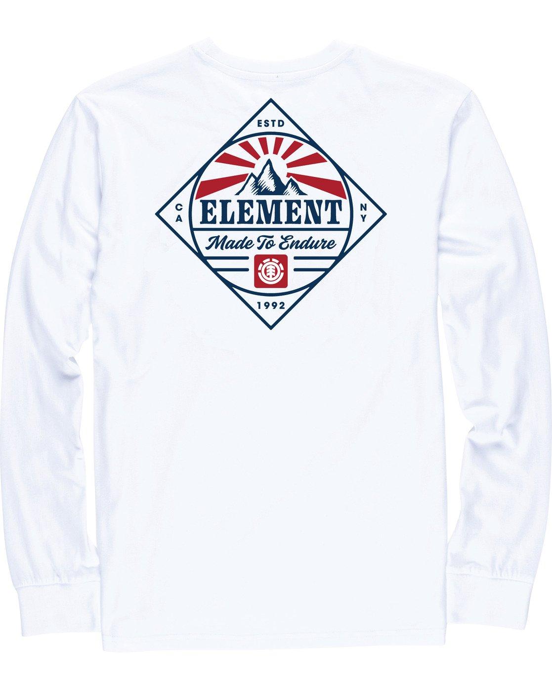 3 Medwell Long Sleeve Shirt White M4704EME Element