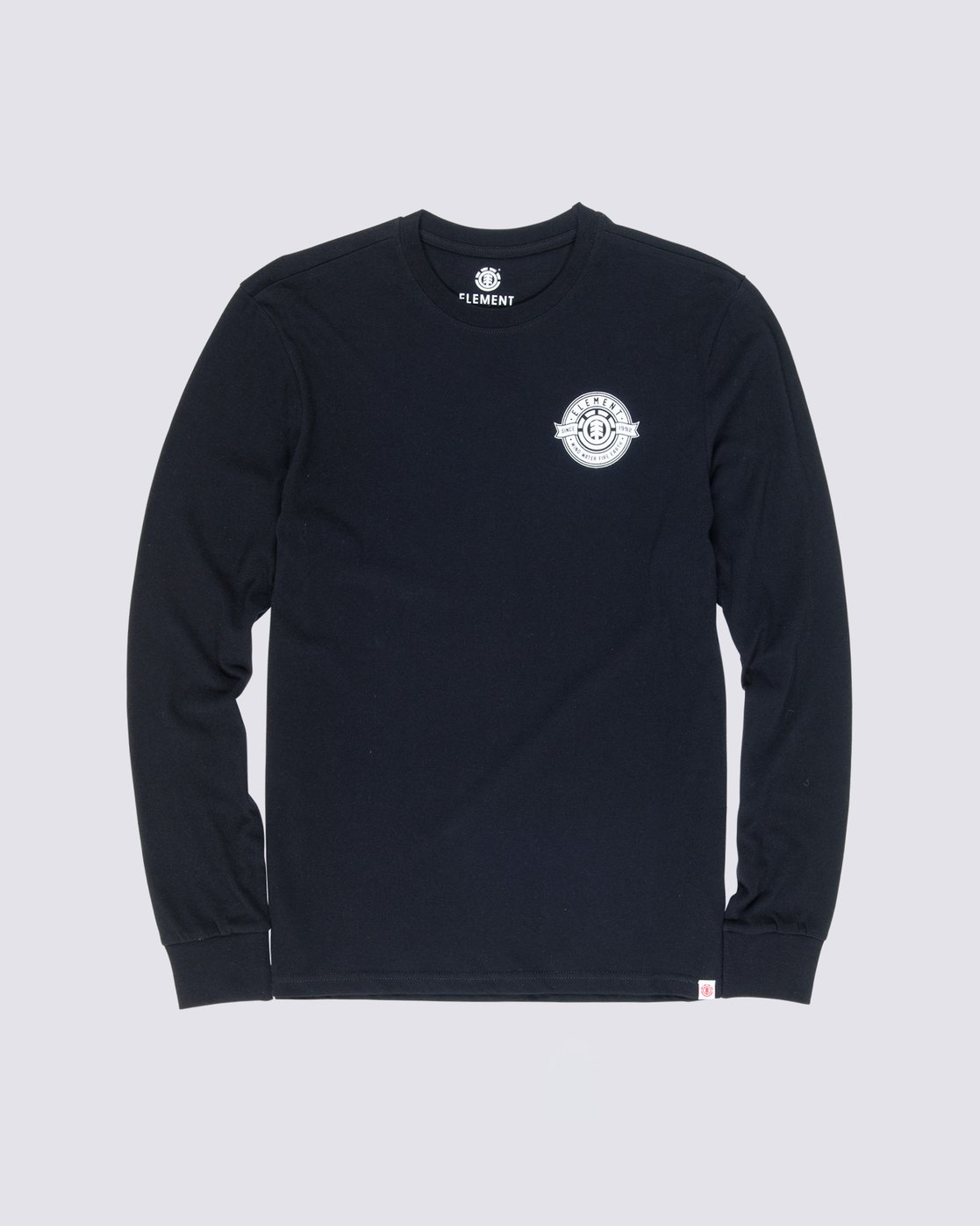 0 Medallian Long Sleeve T-Shirt Blue M475VEME Element