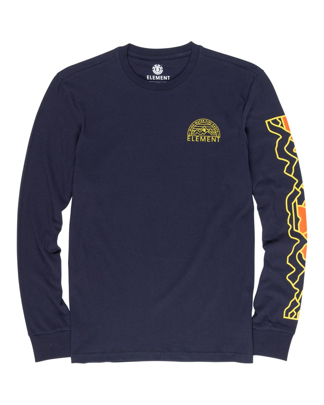 1 Odyssey Long Sleeve Tee Blue M475VEOD Element