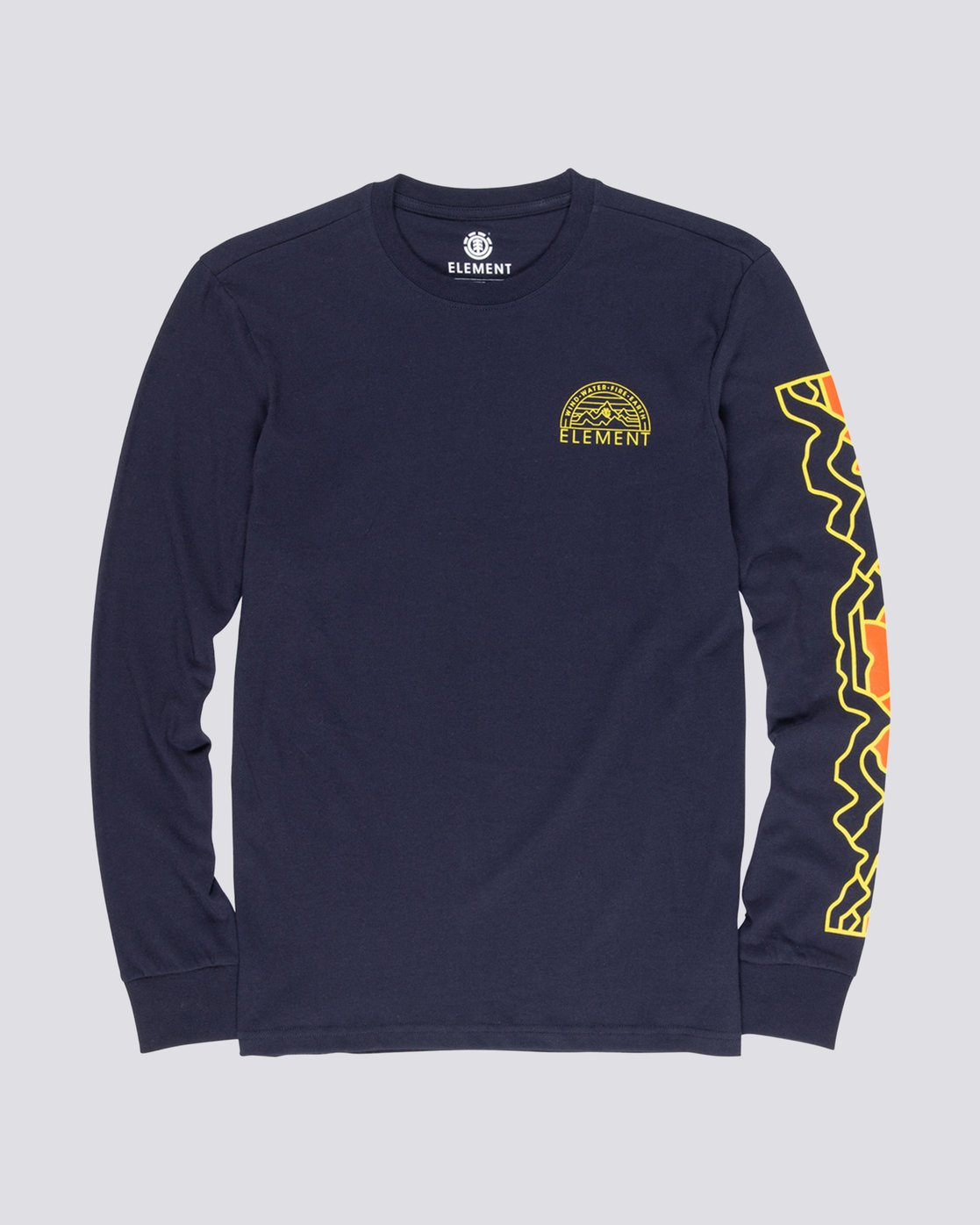 0 Odyssey Long Sleeve Tee Blue M475VEOD Element