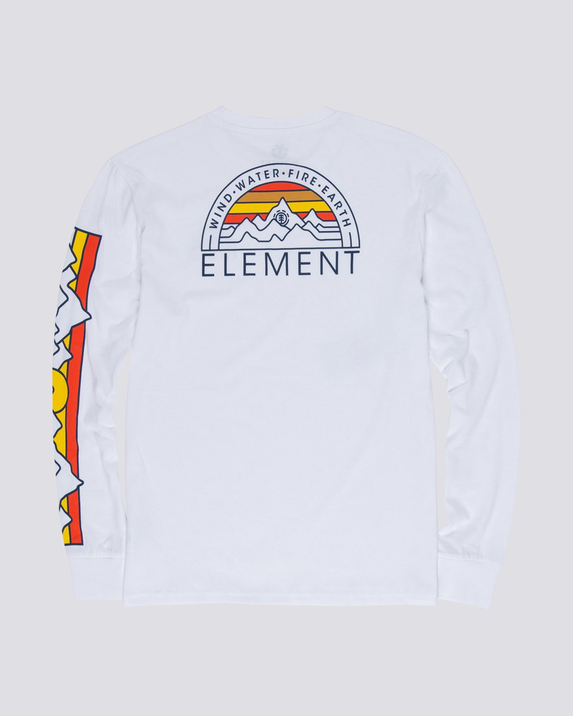 1 Odyssey Long Sleeve Tee White M475VEOD Element