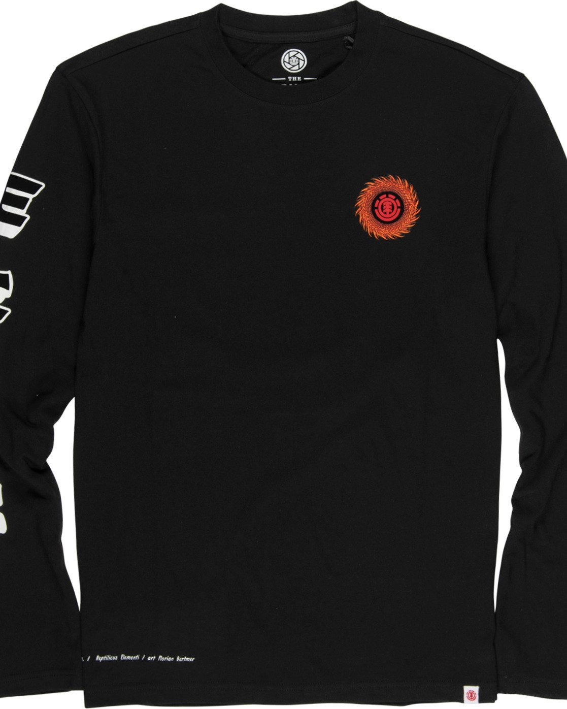 2 Reptilicus Florian Bertmer Long Sleeve T-Shirt  M4851EFL Element
