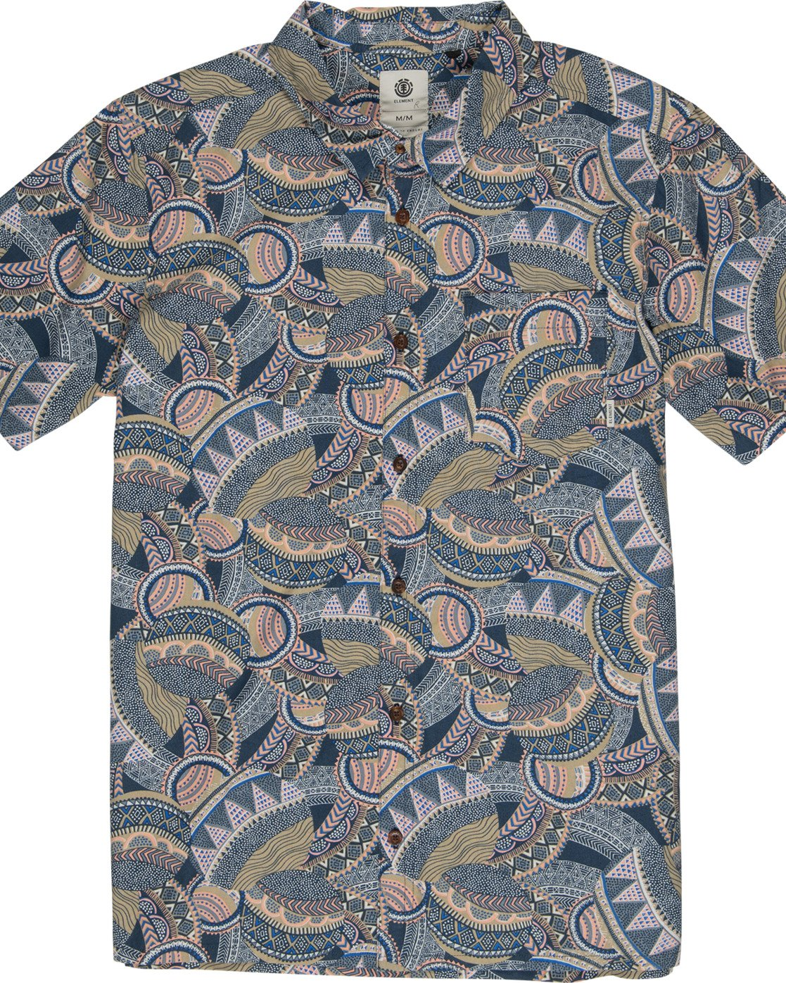 1 Turtle Shirt Blue M5301ETU Element