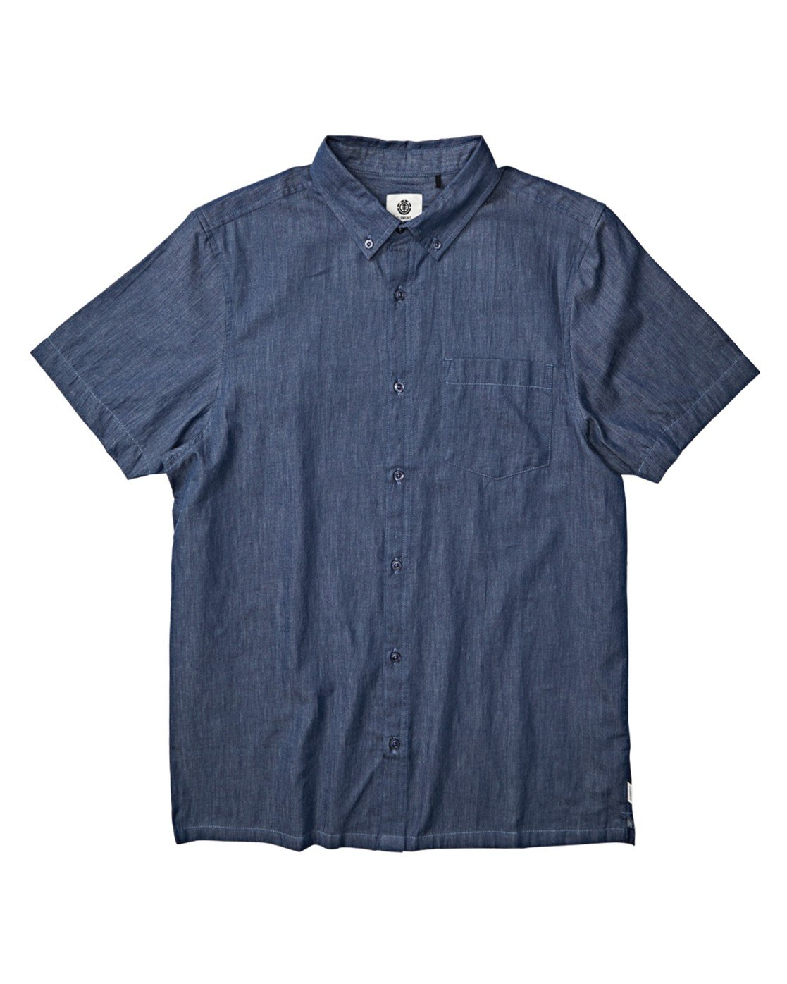1 Vega Button Down Blue M5341EVS Element