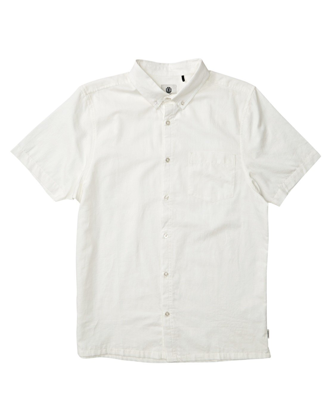 1 Vega Button Down White M5341EVS Element
