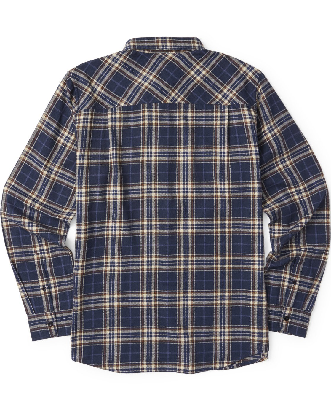 3 Medford Long Sleeve Flannel Shirt Blue M5643EME Element