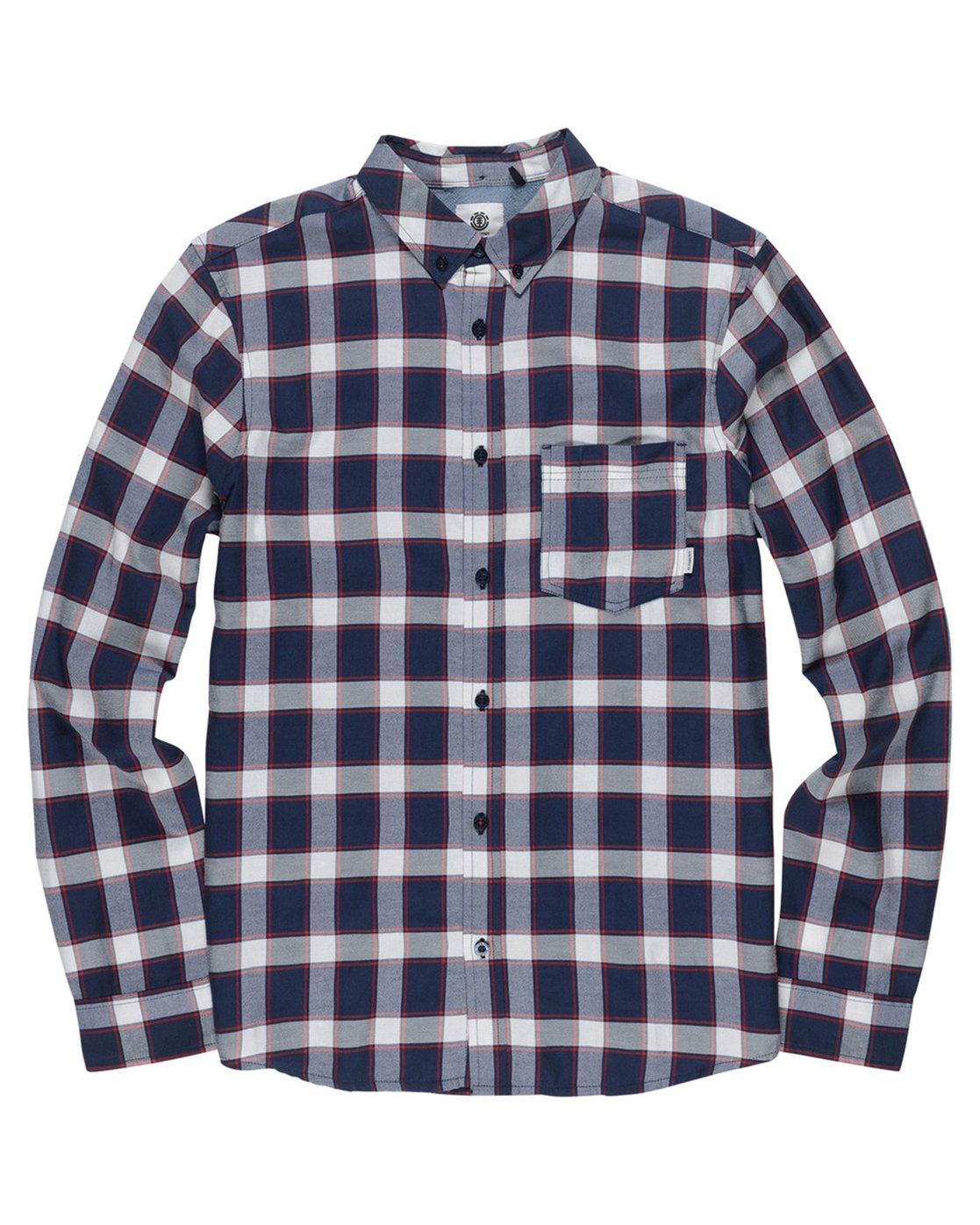 1 Glasgow Long Sleeve Shirt  M569SEGL Element