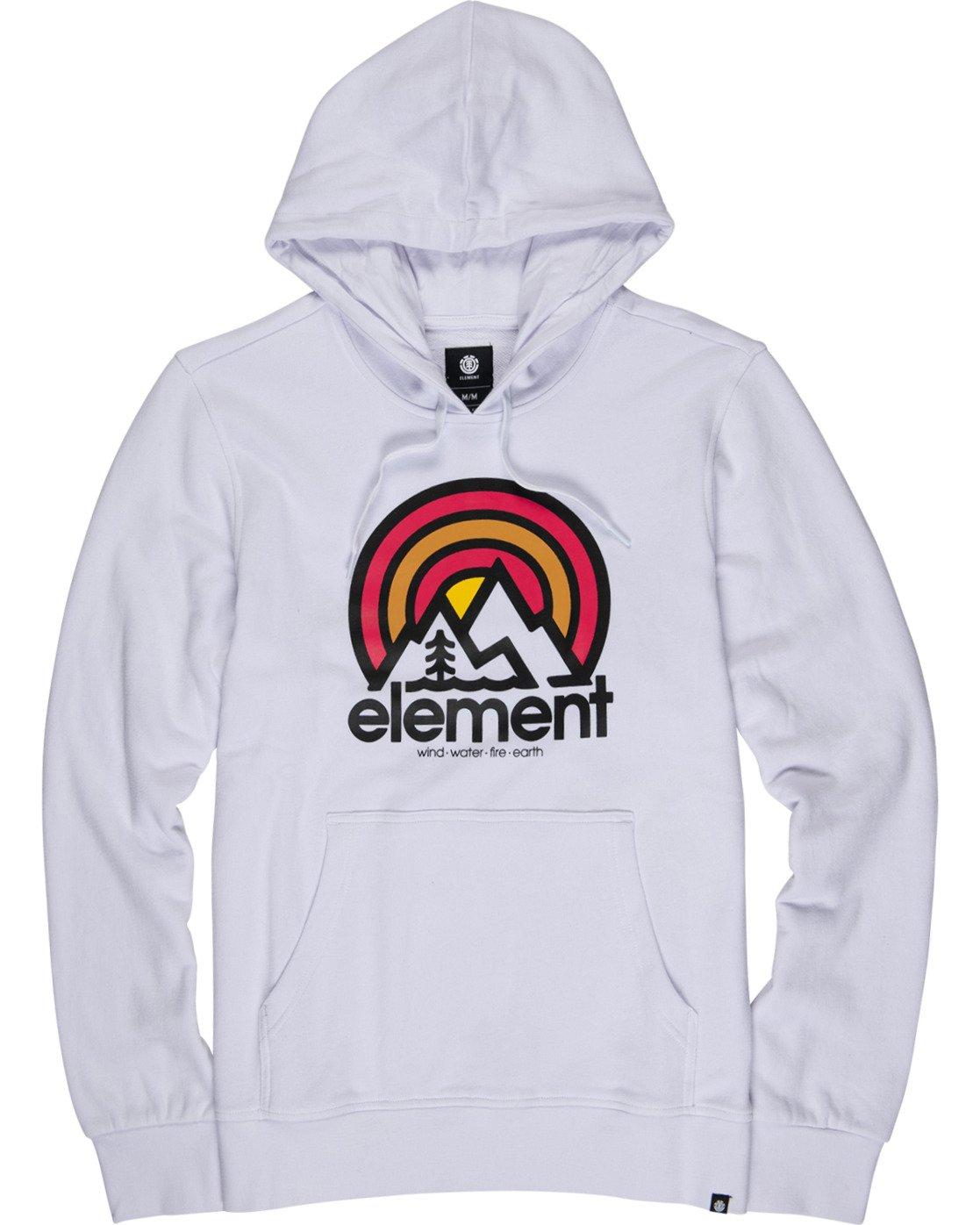 1 Sonata Hoodie White M6021ESO Element