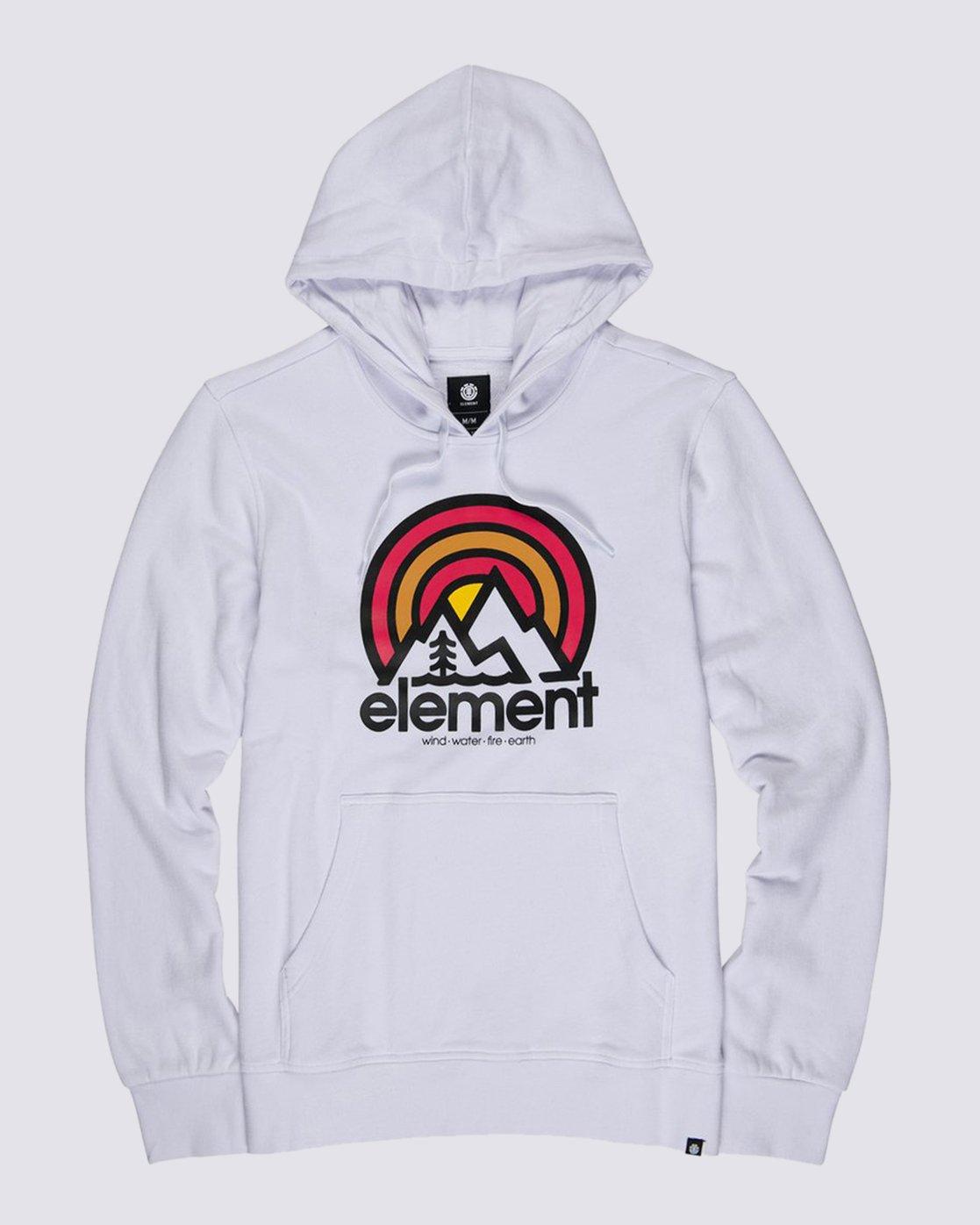 0 Sonata Hoodie White M6021ESO Element