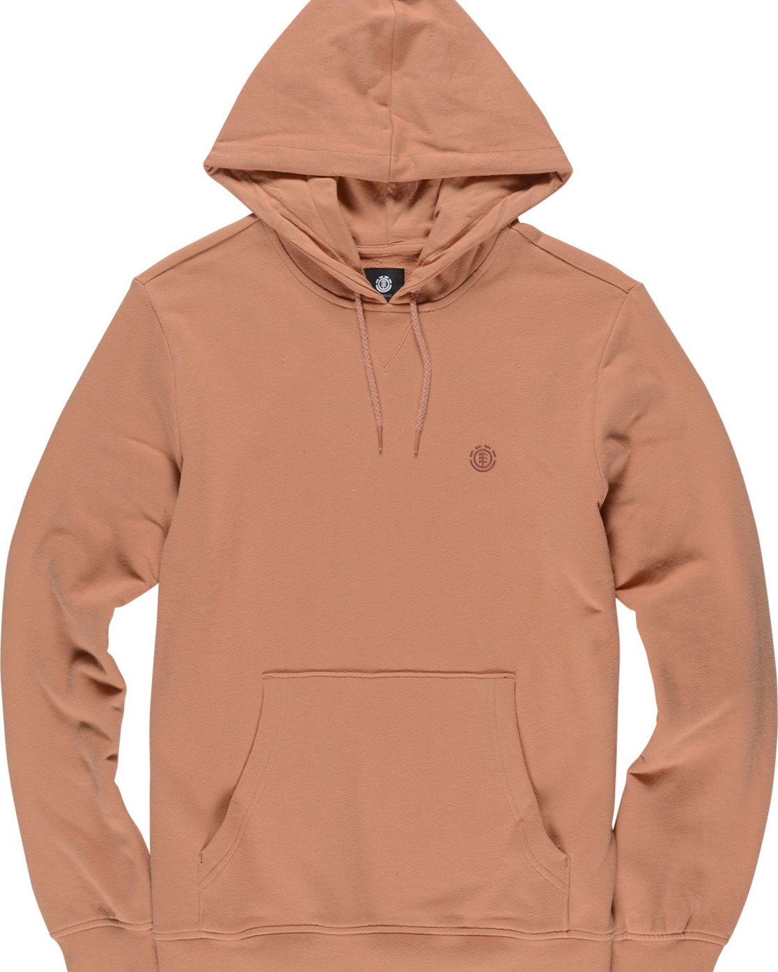 4 Cornell French Terry Pullover Hoodie Brown M606TECF Element