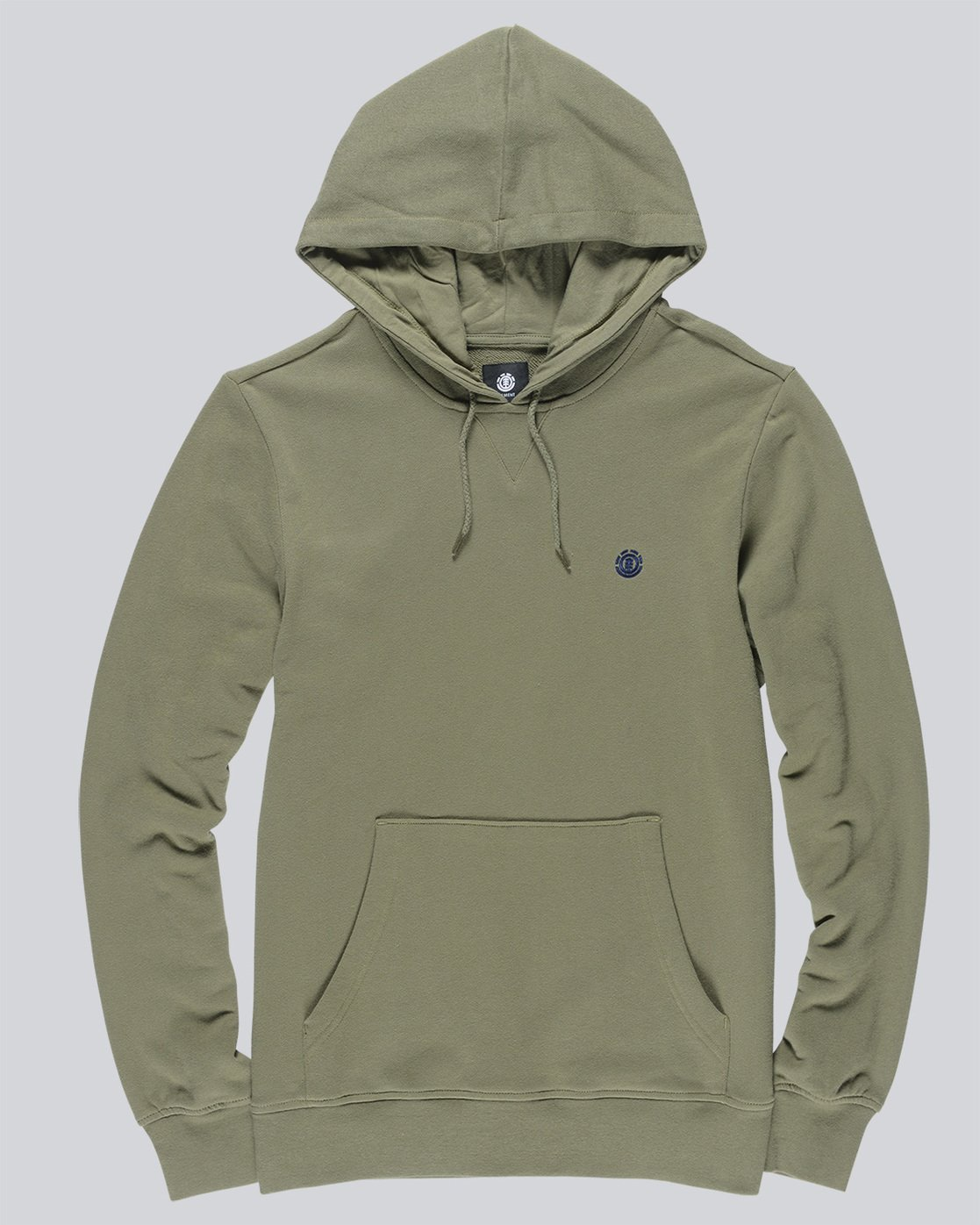 0 Cornell French Terry Pullover Hoodie Green M606TECF Element